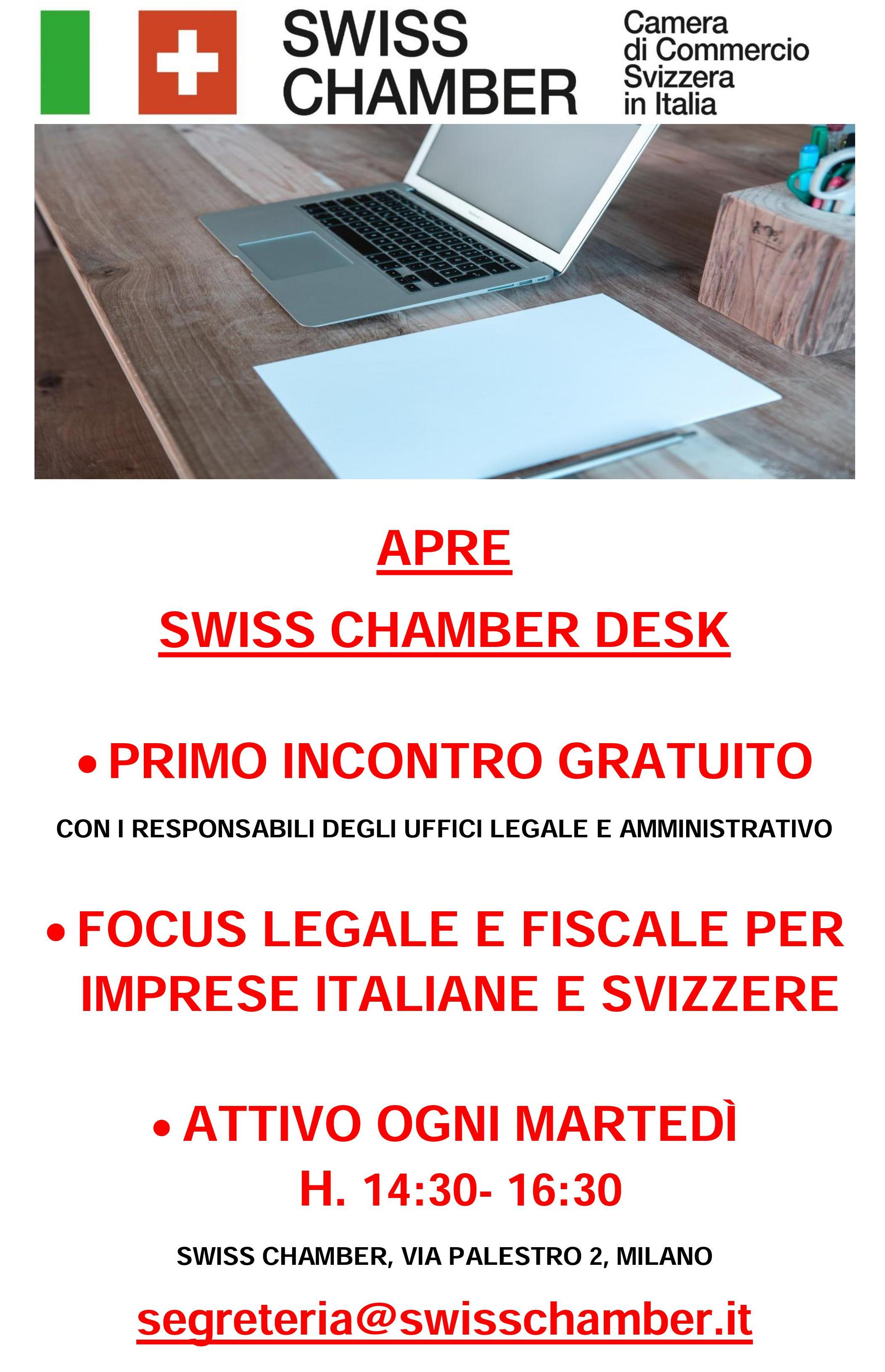 Swiss chamber Desk